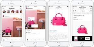 Productos Shopify en Instagram